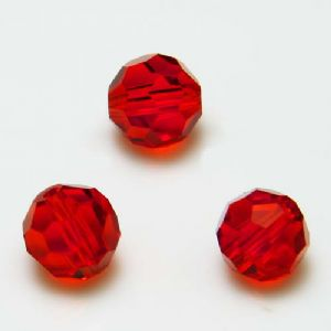 Beads, Selenial Crystal, Crystal, Burgandy , Faceted Rounds, Diameter 8mm, 10 Beads, [ZZC130]